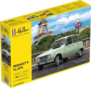 Renault 4l · HE 80759 ·  Heller · 1:24