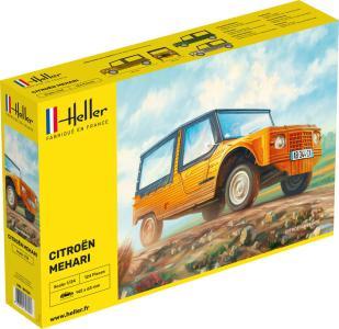 Citroen Mehari (Version 1) · HE 80760 ·  Heller · 1:24