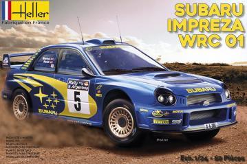 Subaru Impreza WRC´01 · HE 80761 ·  Heller · 1:24