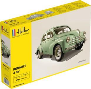 Renault 4 CV · HE 80762 ·  Heller · 1:24