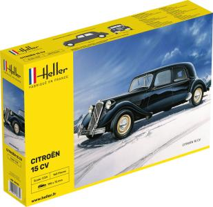 Citroën 15 CV · HE 80763 ·  Heller · 1:24
