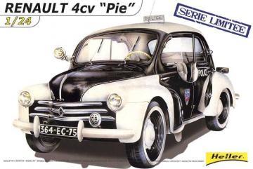 Renault 4CV ´´PIE´´ Limitierte Serie · HE 80764 ·  Heller · 1:24