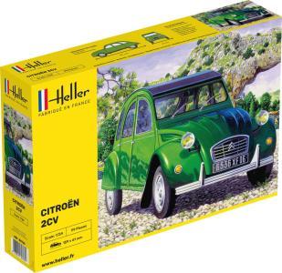 Citroen 2 CV · HE 80765 ·  Heller · 1:24