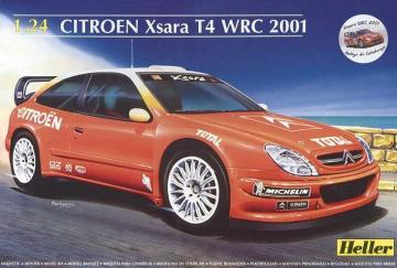Citroen Xsara T4 WRC 2001 · HE 80769 ·  Heller · 1:24