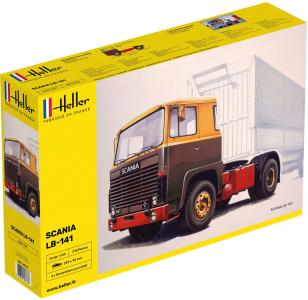 Truck LB-141 · HE 80773 ·  Heller · 1:24