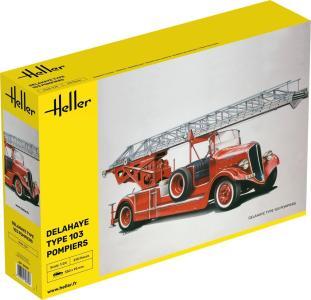 Feuerwehr Delahaye Type 103 · HE 80780 ·  Heller · 1:24