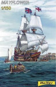 Mayflower · HE 80828 ·  Heller · 1:150