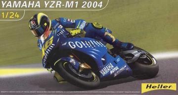 Yamaha YZR-M1 2004 · HE 80927 ·  Heller · 1:24