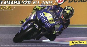 Yamaha YZR-M1 2005 · HE 80928 ·  Heller · 1:24