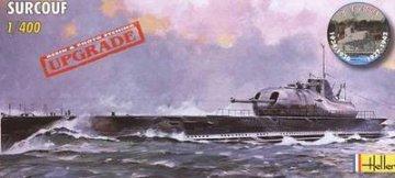 Sous-marin Surcouf · HE 81014 ·  Heller · 1:400