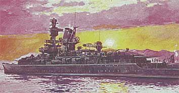 Panzerschiff Admiral Scheer · HE 81045 ·  Heller · 1:400