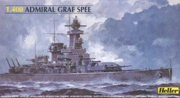 Panzerschiff Admiral Graf Spee · HE 81046 ·  Heller · 1:400