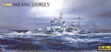 Schlachtschiff King George V · HE 81088 ·  Heller · 1:400