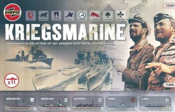 Kriegsmarine Set · HE 81091 ·  Heller · 1:400