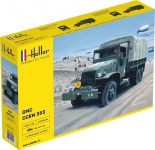 GMC US-Truck · HE 81121 ·  Heller · 1:35