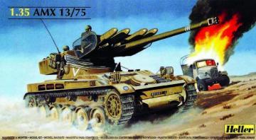 AMX 13/75 · HE 81122 ·  Heller · 1:35