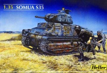 Panzer Somua S35 · HE 81134 ·  Heller · 1:35