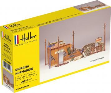 Diorama Normandie · HE 81250 ·  Heller · 1:35