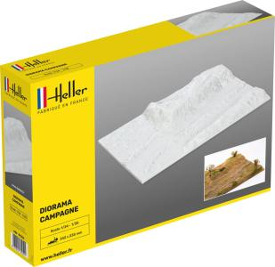 Socle Diorama Campagne · HE 81254 ·  Heller · 1:35