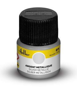 011 Silber metallisch [12 ml] · HE 9011 ·  Heller