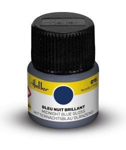 015 - Mitternachtsblau glänzend [12 ml] · HE 9015 ·  Heller