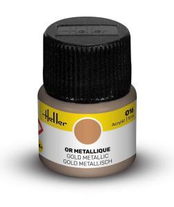 016 - Gold metallisch [12 ml] · HE 9016 ·  Heller