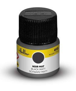 033 - Schwarz matt [12 ml] · HE 9033 ·  Heller