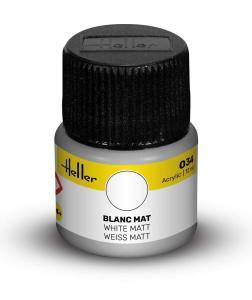 034 - Weiß matt [12 ml] · HE 9034 ·  Heller