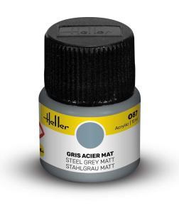 087 - Stahlgrau matt [12 ml] · HE 9087 ·  Heller