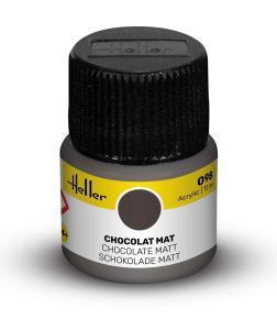 098 - Schokolade matt [12 ml] · HE 9098 ·  Heller