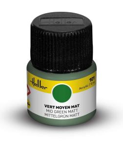 101 - Mittelgrün matt [12 ml] · HE 9101 ·  Heller