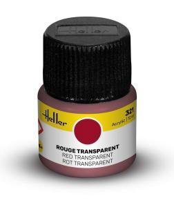 321 - Rot transparent [12 ml] · HE 9321 ·  Heller