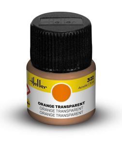 322 - Orange transparent [12 ml] · HE 9322 ·  Heller