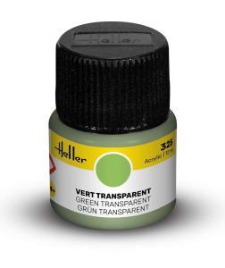 325 - Grün transparent [12 ml] · HE 9325 ·  Heller