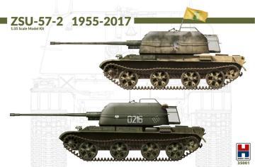 ZSU-57-2 1955-2017 (w/bonus 11 painting and marking) · HB2 35001 ·  Hobby 2000 · 1:35