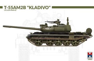 T-55AM2B Kladivo (w/bonus 4 painting and marking) · HB2 35002 ·  Hobby 2000 · 1:35