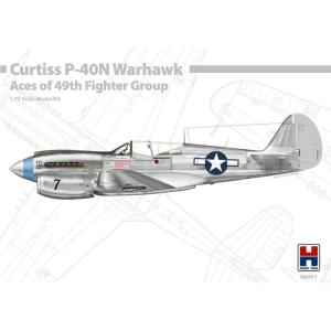 P-40N Warhawk - Aces of The 49th Fighter Group · HB2 48001 ·  Hobby 2000 · 1:48
