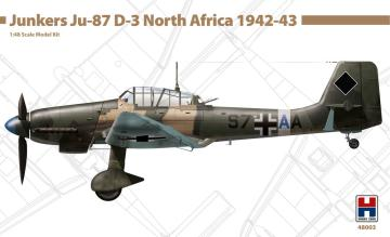 Junkers Ju-87 D-3 - North Africa 1942-43 · HB2 48003 ·  Hobby 2000 · 1:48