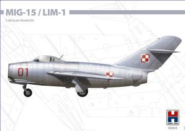 MIG-15 / LIM-1 · HB2 48005 ·  Hobby 2000 · 1:48