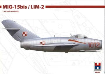 MIG-15bis / LIM-2 · HB2 48008 ·  Hobby 2000 · 1:48