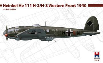 Heinkel He-111 H-2/H-3 - Western Front 1940 · HB2 72048 ·  Hobby 2000 · 1:72