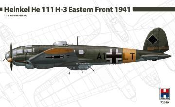 Heinkel He-111 H-3 - Eastern Front 1941 · HB2 72049 ·  Hobby 2000 · 1:72