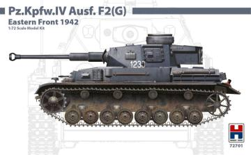 Pz.Kpfw.IV Ausf.F2 (G) Eastern Front 1942 · HB2 72701 ·  Hobby 2000 · 1:72