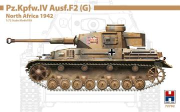 Pz.Kpfw.IV Ausf.F2 (G) North Africa 1942 · HB2 72702 ·  Hobby 2000 · 1:72