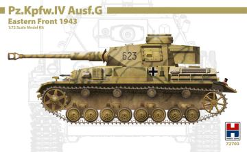 Pz.Kpfw.IV Ausf.G Eastern Front 1943 · HB2 72703 ·  Hobby 2000 · 1:72