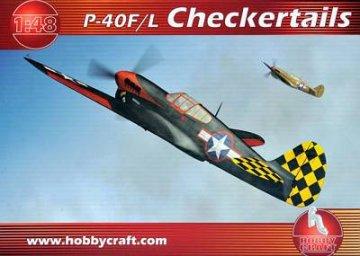 P-40F ´CHECKERED TAIL´ · HC 1418 ·  Hobby Craft · 1:48