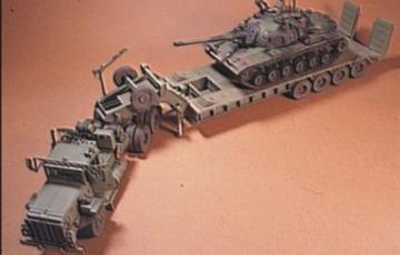 M911 Semi-Trailer, Talbert 64T Tank Tran · HF 006 ·  Hobby Fan · 1:35