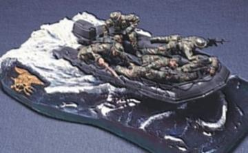 U.S. Navy Seal Special Boat Unit · HF 008 ·  Hobby Fan · 1:35