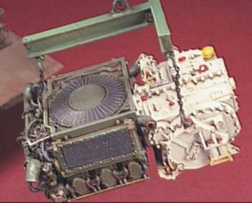 M41 M42 M52 Engine · HF 015 ·  Hobby Fan · 1:35