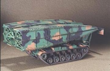 M48 AVLB Armored Vehicle Launched Bridge · HF 018 ·  Hobby Fan · 1:35